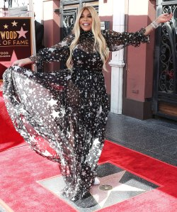 Wendy Williams Honored with a Star on Hollywood Walk of Fame October 17, 2019