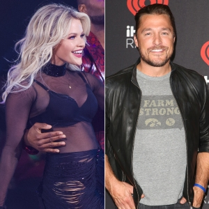Witney Carson Former Dancing with the Stars Partner Chris Soules in Audience