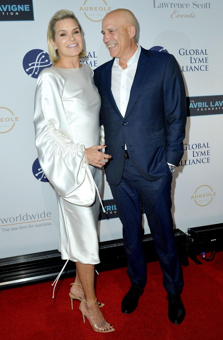 Yolanda Hadid Boyfriend Joseph Jingoli Make Their Red Carpet Debut