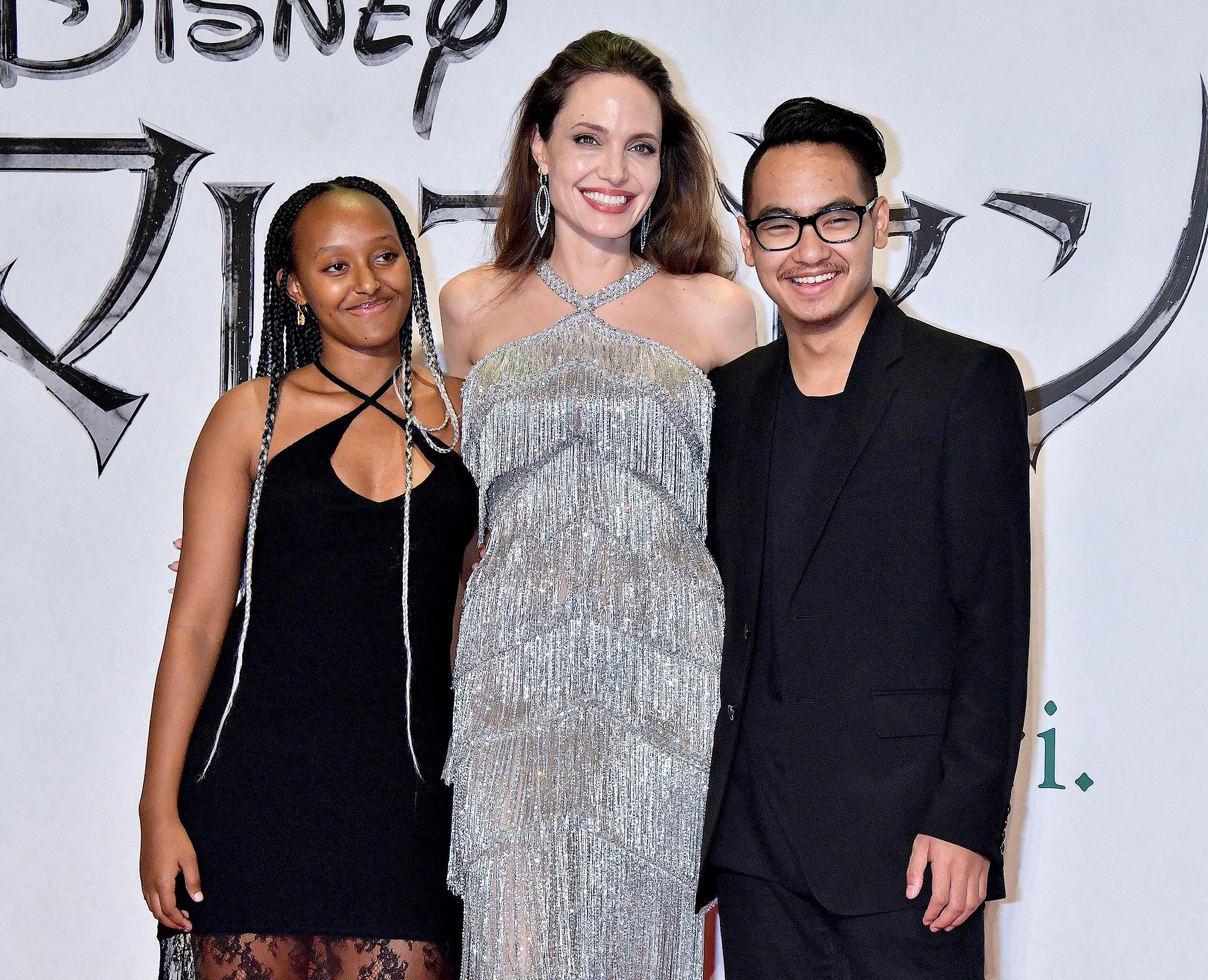 Zahara-Jolie-Pitt,-Angelina-Jolie-and-Maddox-Jolie-Pitt