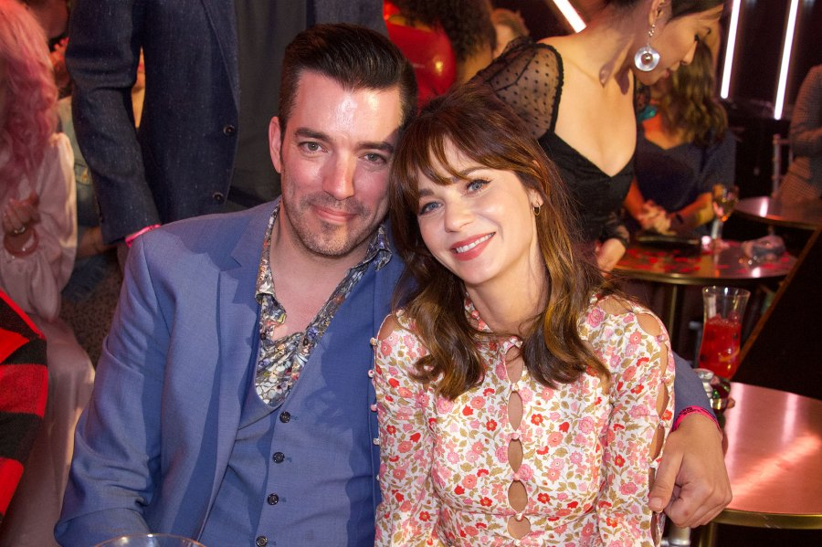 Zooey Deschanel and Jonathan Scott Dancing With The Stars