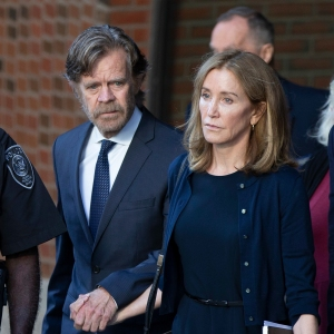 Felicity Huffman Spotted in Prison Jumpsuit Amid Visit From Husband William H. Macy