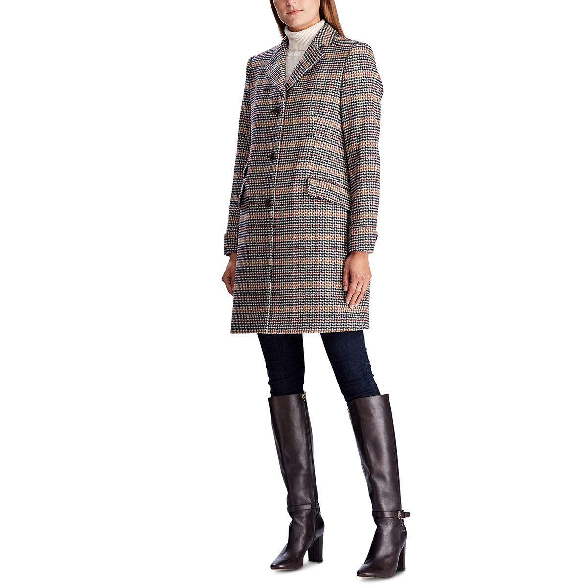 Ralph Lauren Coat Plaid