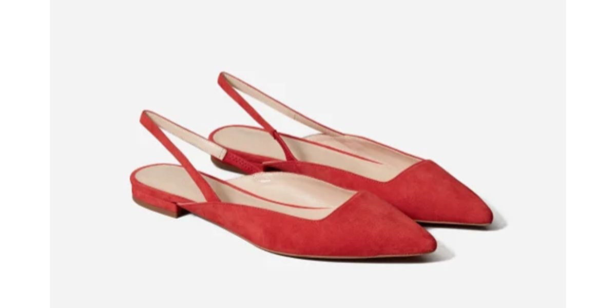 We Spotted Duchess Meghan in This Exact $155 Everlane Slingback — And They're Still in Stock!