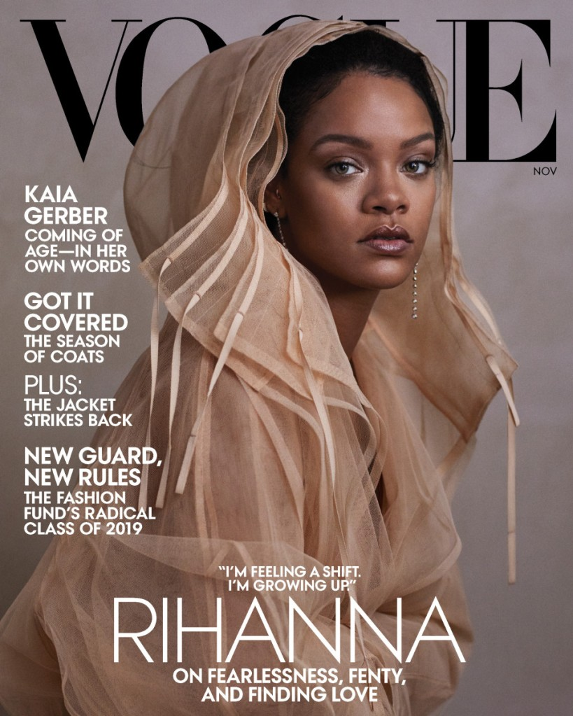rihanna vogue magazine november 2019