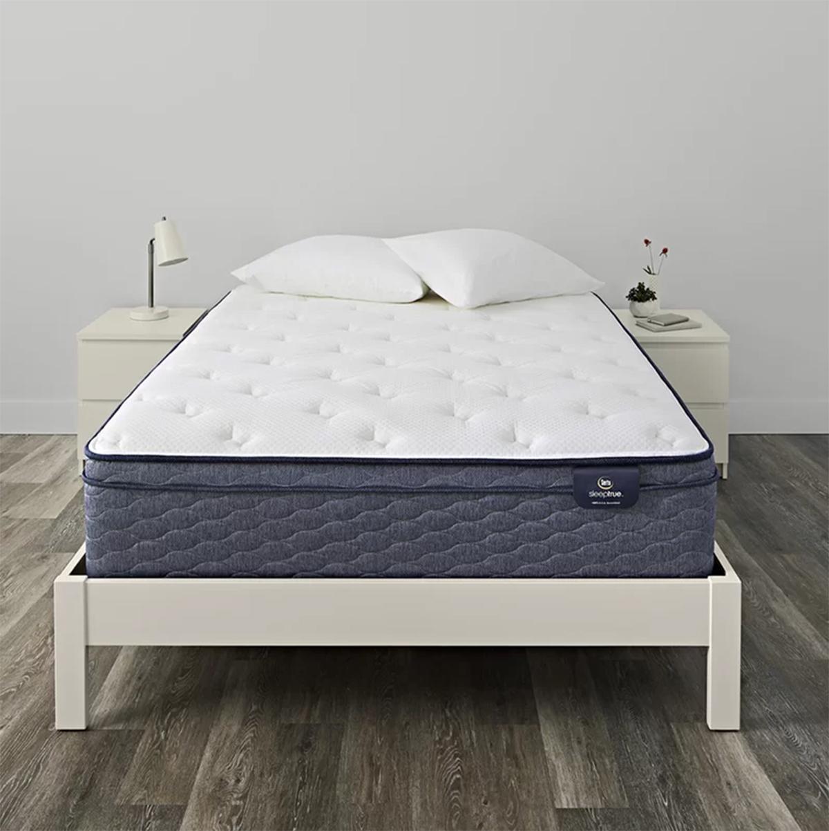 """SleepTrue Alverson 13"""" Plush Pillow Top Mattress"""