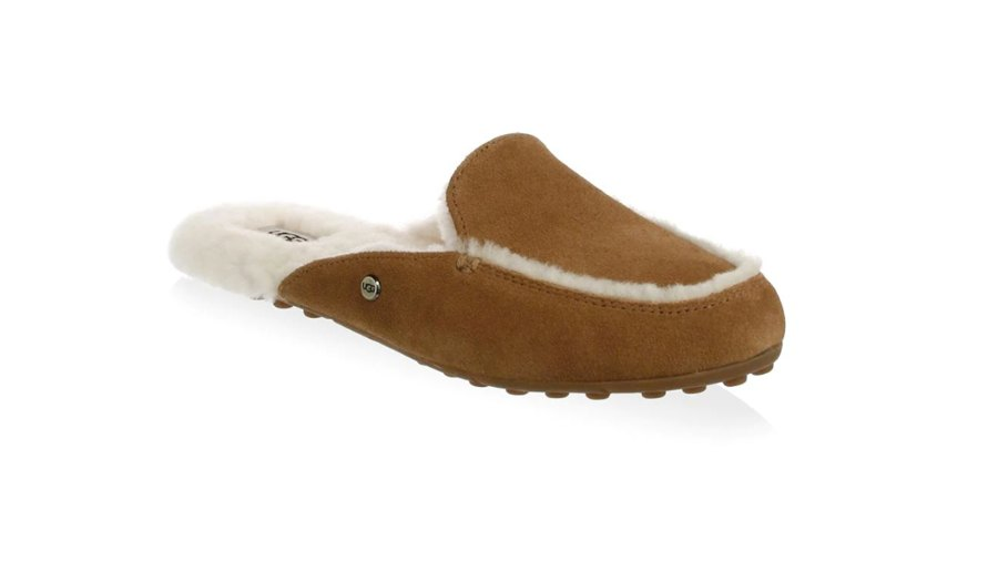 UGG W Lane Shearling-Lined Slip-On Loafers