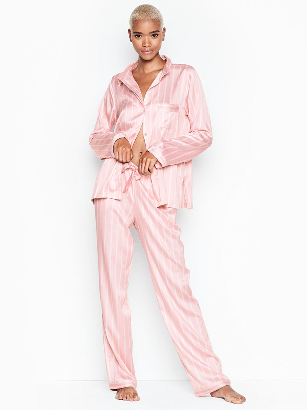 Sleep in Style With 40% Off This Luxurious Victoria's Secret Pajama Set