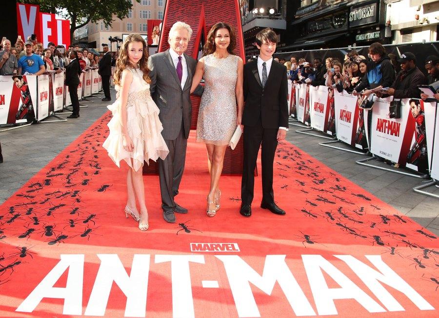 2015-Michael-Douglas-and-Catherine-Zeta-Jones-Ant-Man