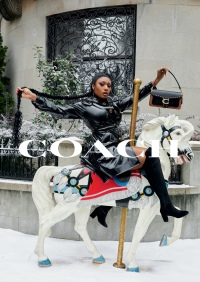 2019 Coach Holiday Campaign - Megan Thee Stallion