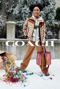 2019 Coach Holiday Campaign - Yara Shahidi
