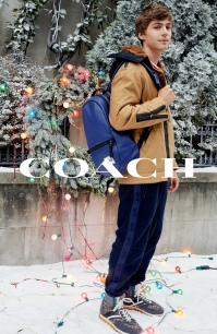 2019 Coach Holiday Campaign - Miles Heizer