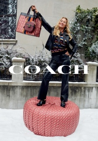 2019 Coach Holiday Campaign - Kate Moss