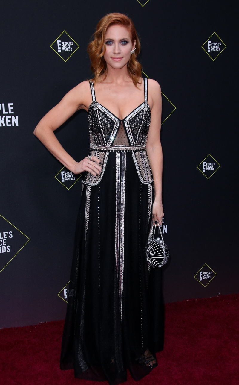 2019 People's Choice Awards - Brittany Snow