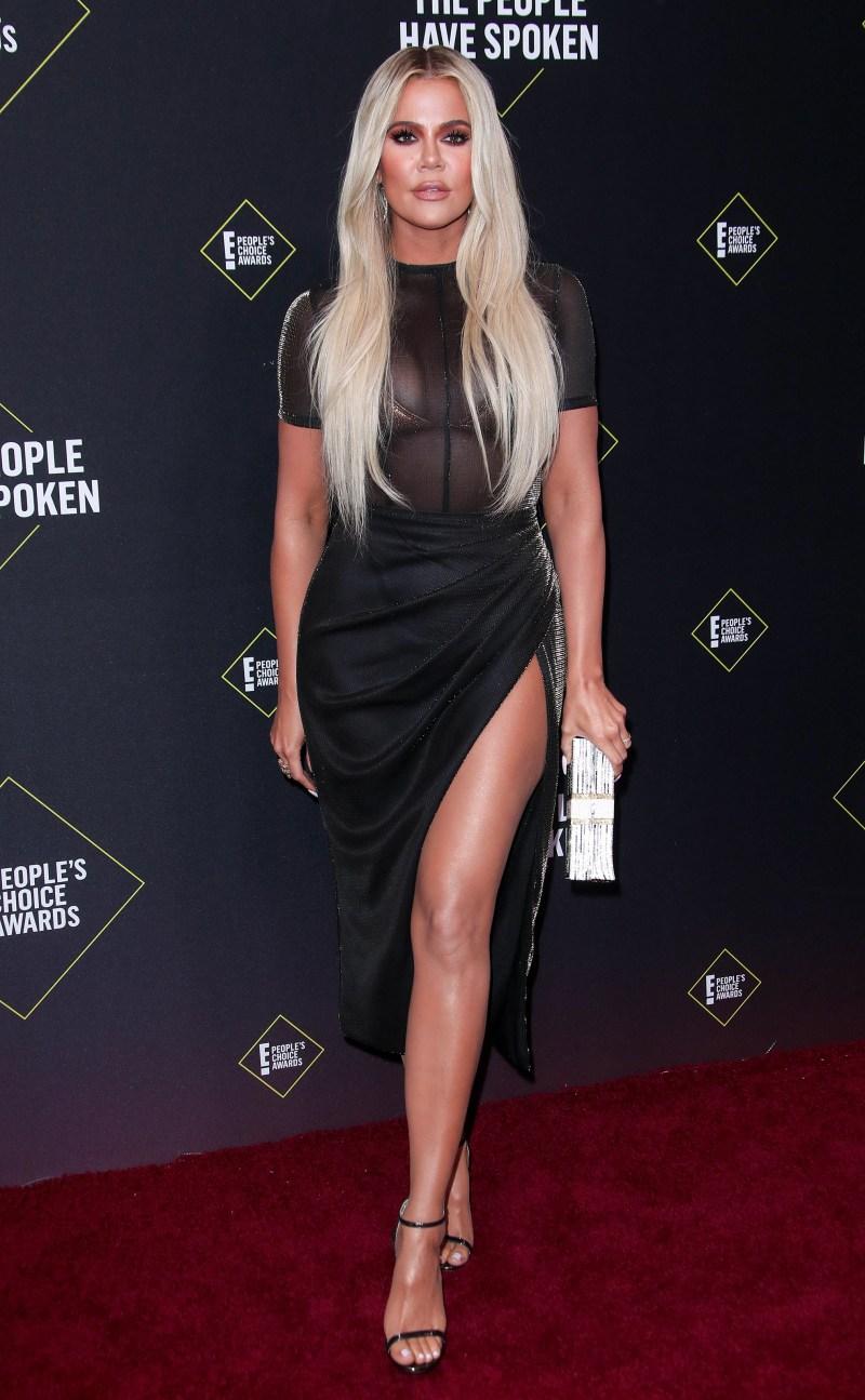 2019 People's Choice Awards - Khloe Kardashian