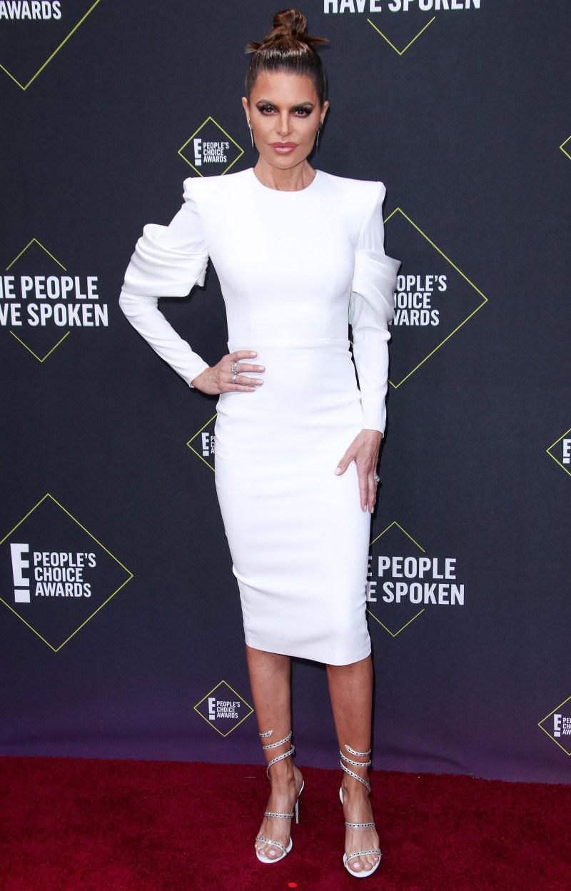 2019 People's Choice Awards - Lisa Rinna