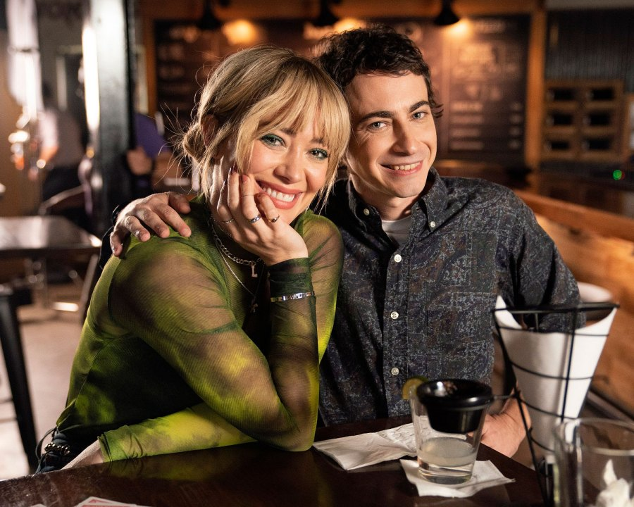 Adam Lamberg and Hilary Duff Lizzie Maguire