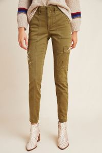 Austen Embroidered Utility Pants