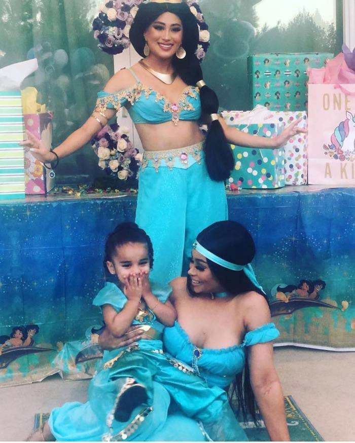 Blac Chyna Celebrates Daughter Dream's 3rd Birthday With 'Aladdin'-Themed Party