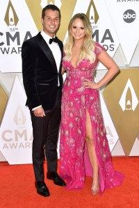 Brendan Mcloughlin and Miranda Lambert 2019 CMA Awards Arrivals Red Carpet
