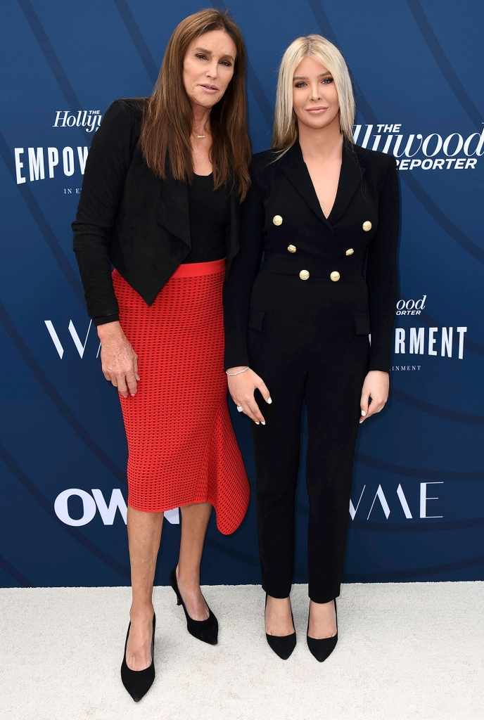 Caitlyn Jenner and Sophia Hutchins THR's Empowerment in Entertainment Gala