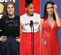 Celebs Wearing Political Fashion