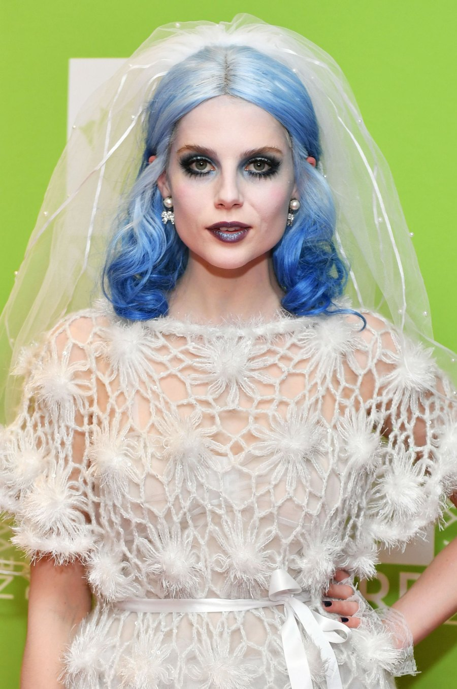 Celebs in Wigs Halloween Edition - Lucy Boynton