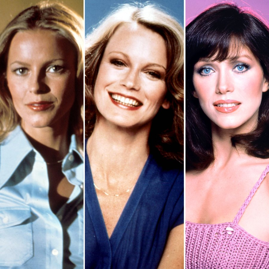 Cheryl Ladd, Shelley Hack, Tanya Roberts Charlies Charlie's Angels Through the Years