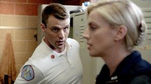 Chicago Fire Sneak Peek Brett Gets Defensive When Casey Thinks She Has a Boyfriend