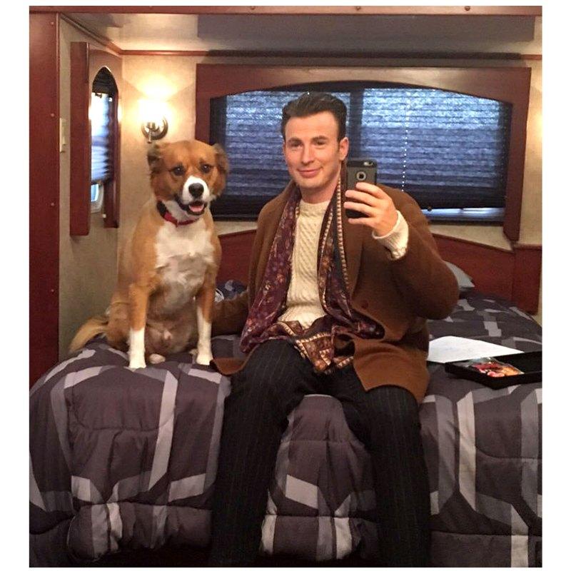 https://www.usmagazine.com/wp content/uploads/2019/11/Chris Evans His Dog Dodger See Their Pawsome Friendship