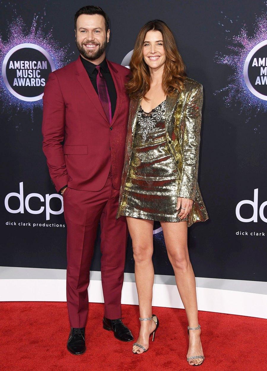 Cobie Smulders and Taran Killam Hottest Couples AMAs 2019