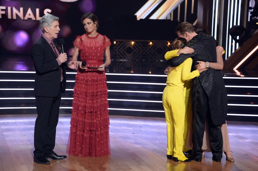 DWTS' Ally Brooke Reveals What James Van Der Beek Said to Her After She Offered to Be Eliminated-