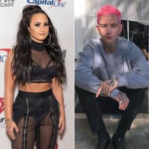 celebrity crush Demi Lovato Is 'Really Happy' With New Boyfriend Austin Wilson