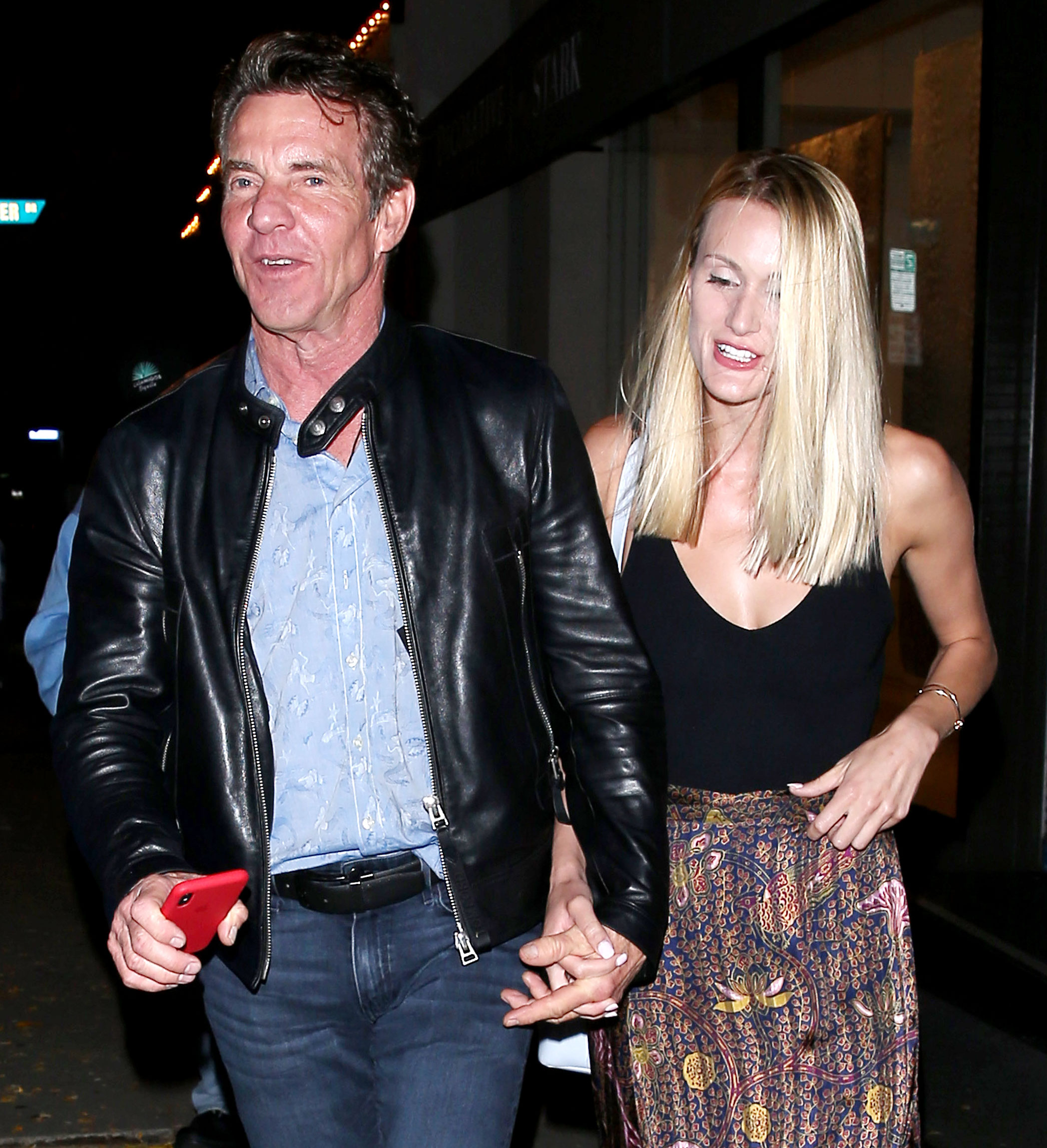 Dennis Quaid Defends Age Difference with Fiancee Laura Savoie