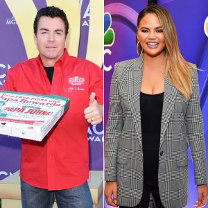 Disgraced Papa John's Founder John Schnatter Says He's Had 40 Pizzas in 30 Days and Chrissy Teigen Is Shook