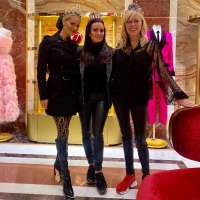 Dorit Kemsley, Kyle Richards, Sutton Stracke Real Housewives of Beverly Hills Cast Trip to Rome