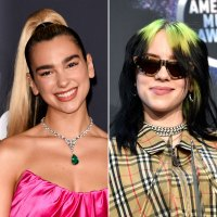 Dua Lipa Notices Billie Eilish AMAs What You Didn't See on TV