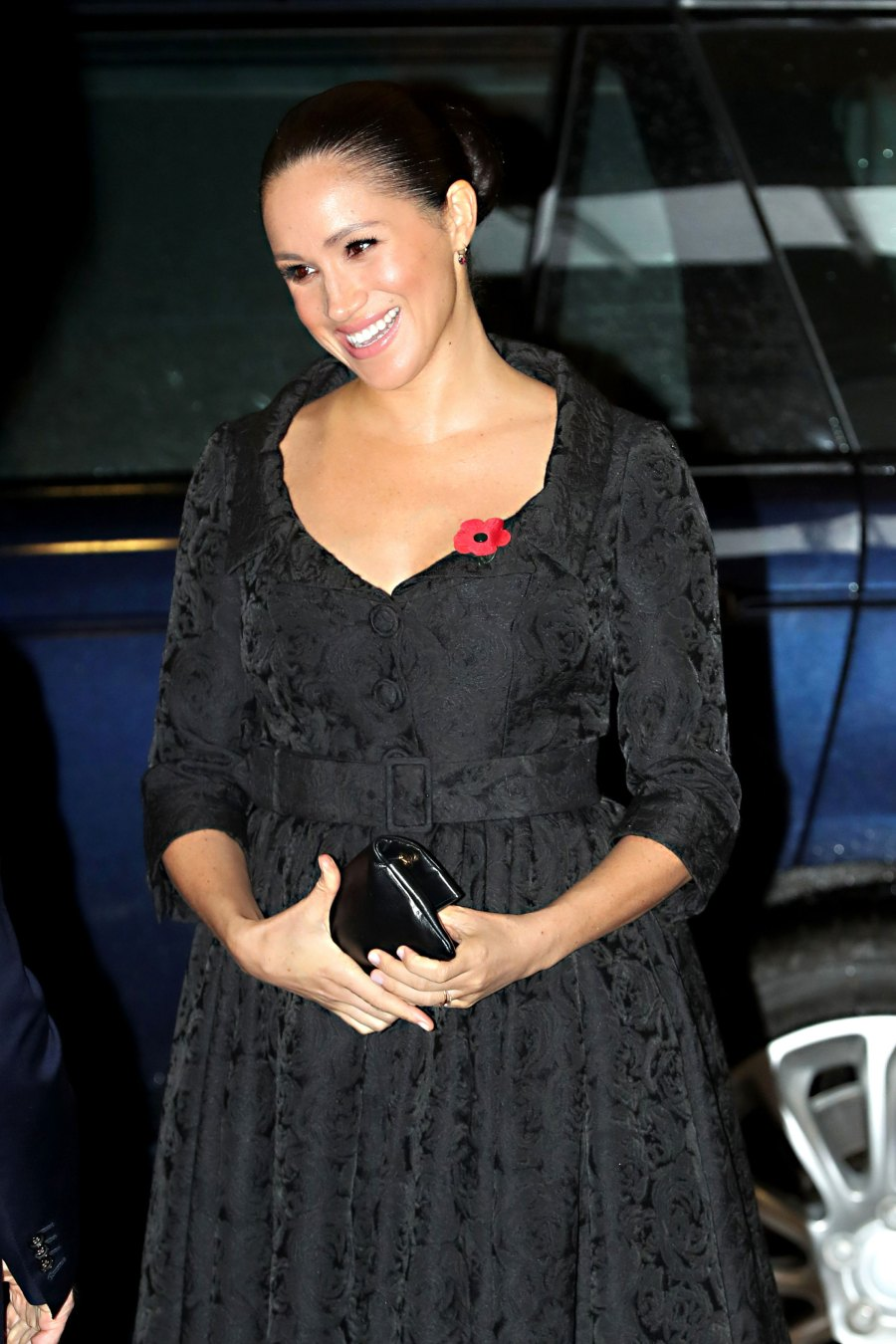 Duchess Meghan Dazzles in Anything-But-Basic Black