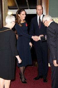 Duchess Meghan, Duchess Kate, Prince William and Prince Harry Reunite at Festival of Remembrance Service