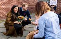 Duchess Meghan and Prince Harry Visit Broom Farm Community Centre Reveals Son Archie Is Crawling and Has 2 Teeth