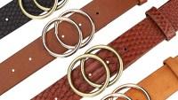 Earnda Women's Faux Leather Belt
