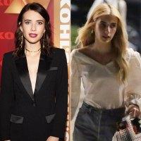 Emma Roberts Hair Change Brunette to Blonde