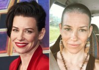 Evangeline Lilly Hair Change Short to Shaved