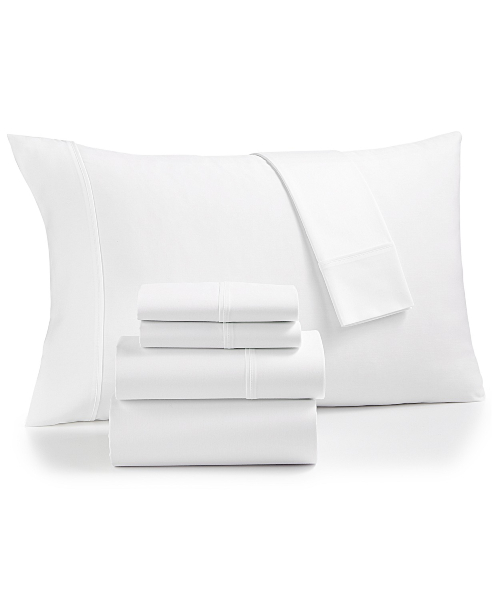 Fairfield Square Collection Essex StayFit 6-Pc Extra Deep Pocket Queen Sheet Set 1200 Thread Count, Created for Macy's