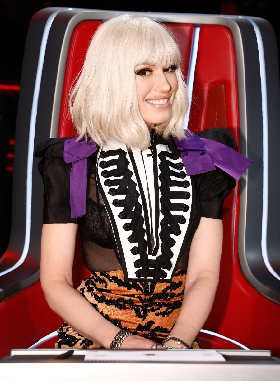"Gwen Stefani Bangs ""The Voice"" Wig"