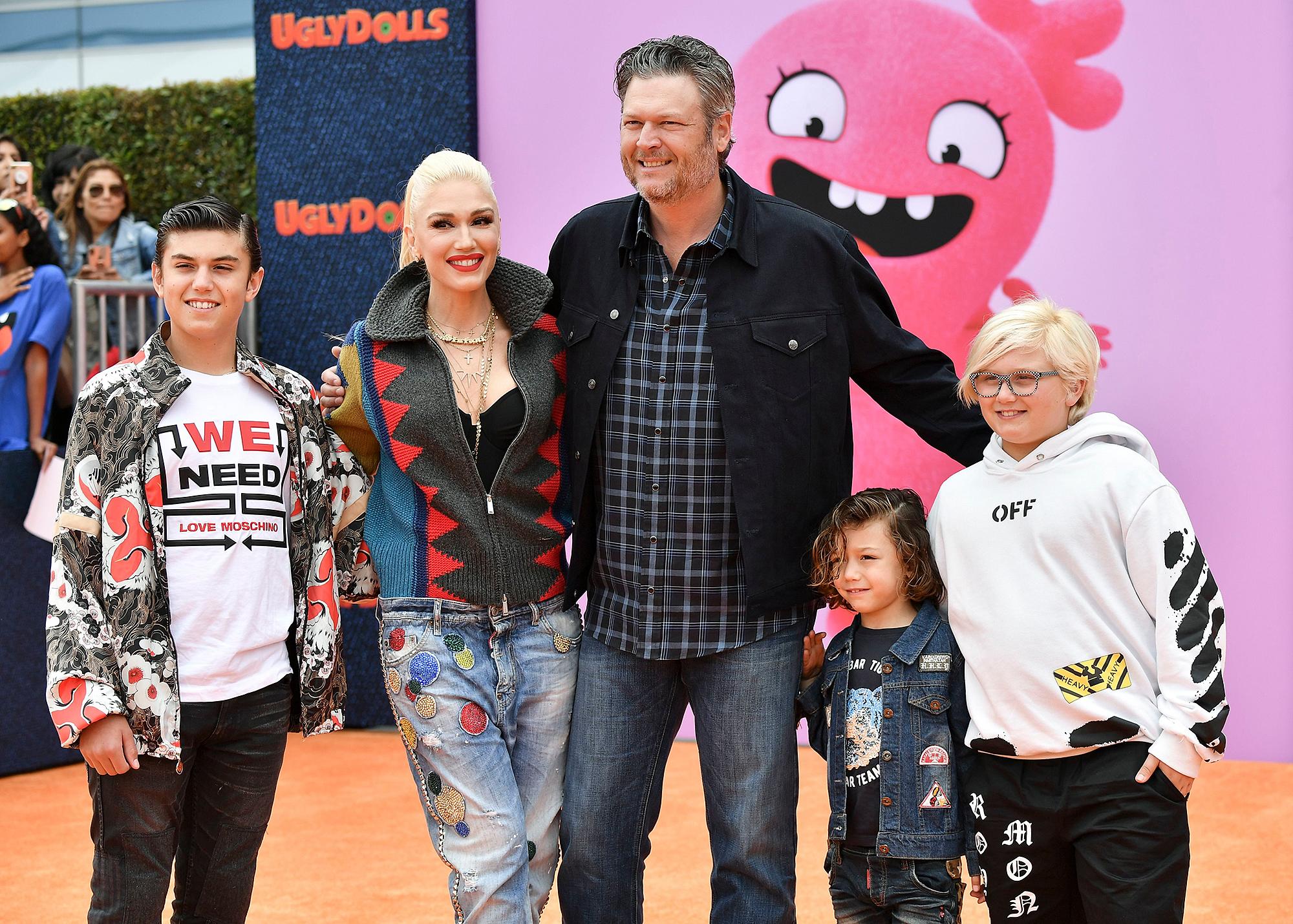 Gwen-Stefani-Blake-Shelton-and-kids