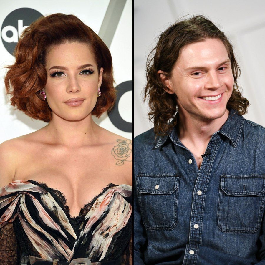 Halsey Denies Pregnancy Rumors After Evan Peters Is Spotted Touching Her Stomach