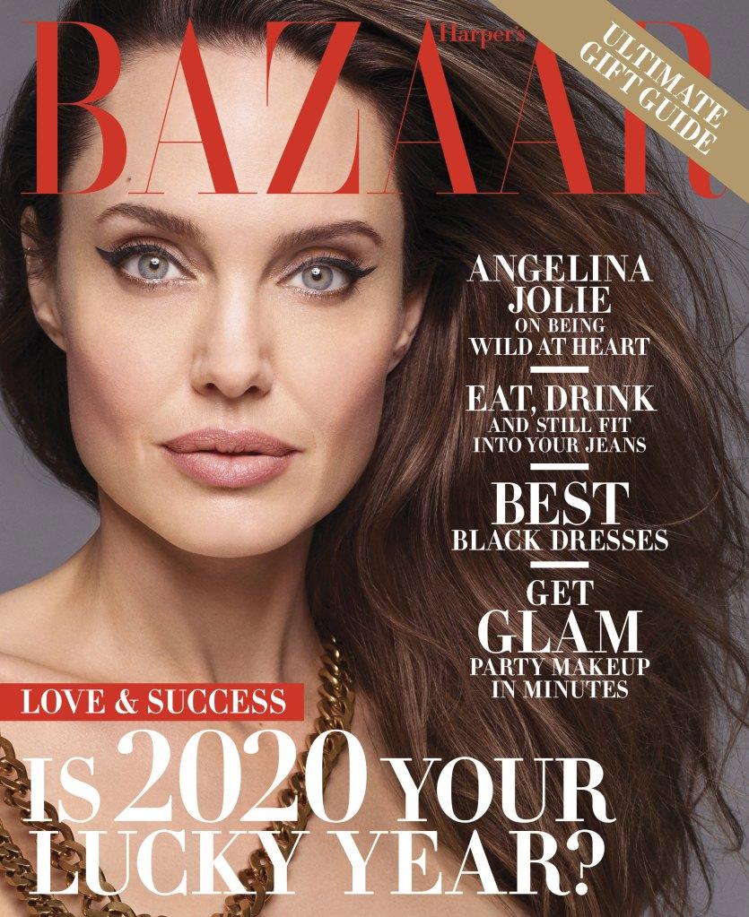 Harpers Bazaar How Angelina Jolie's Kids Helped Her Find Her 'True Self Again'