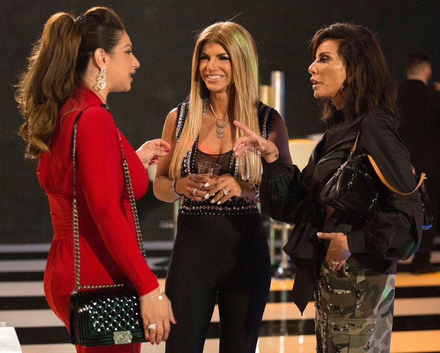 Jacqueline Laurita, Teresa Giudice, Danielle Staub Real Housewives of New Jersey RHONJ