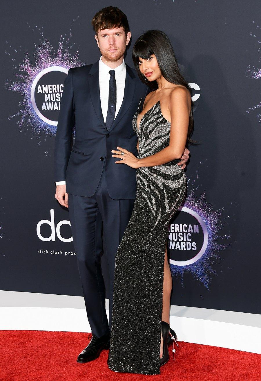 James Blake and Jameela Jamil Hottest Couples AMAs 2019